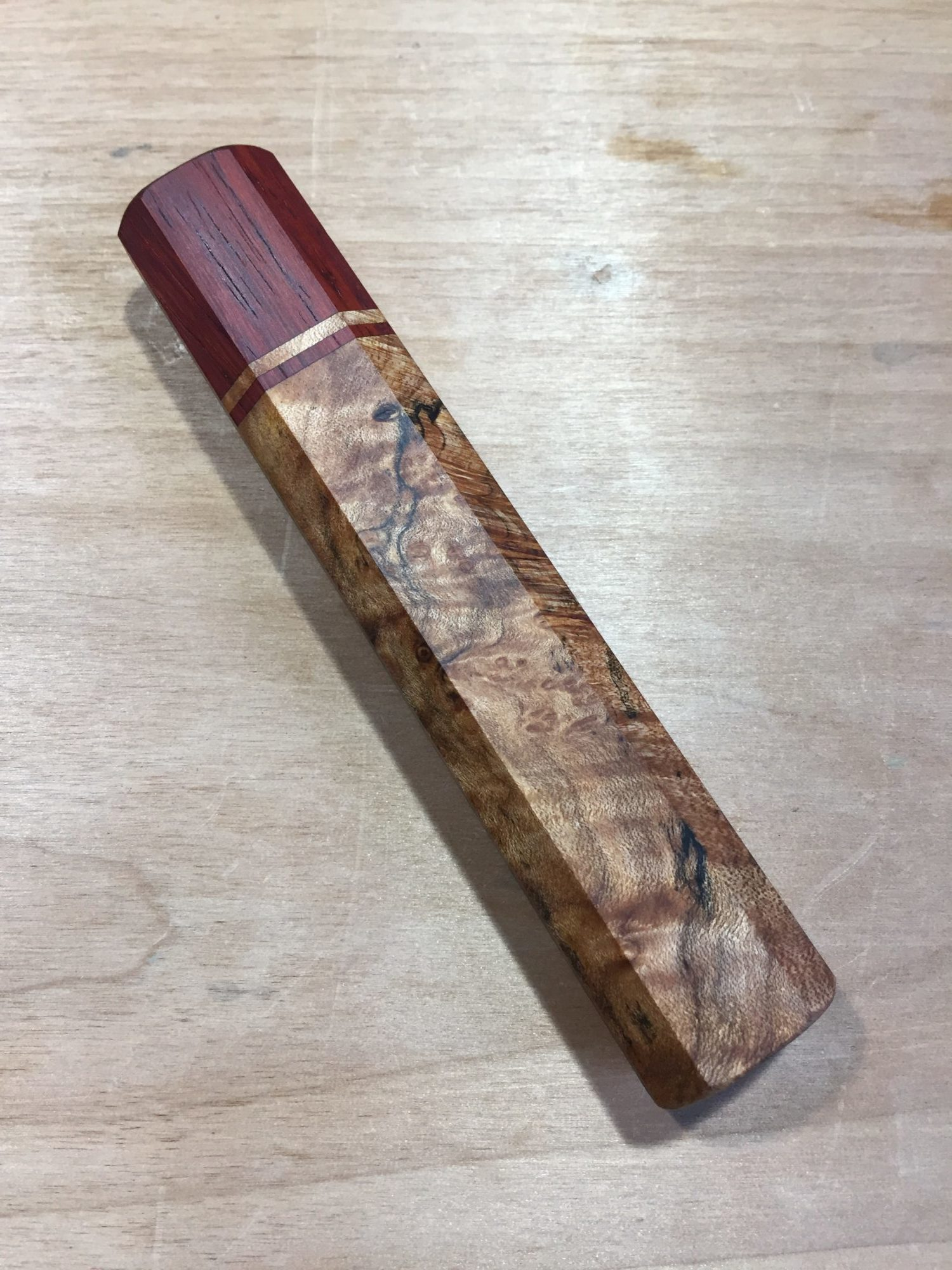 wa-handle finished with Tung oil