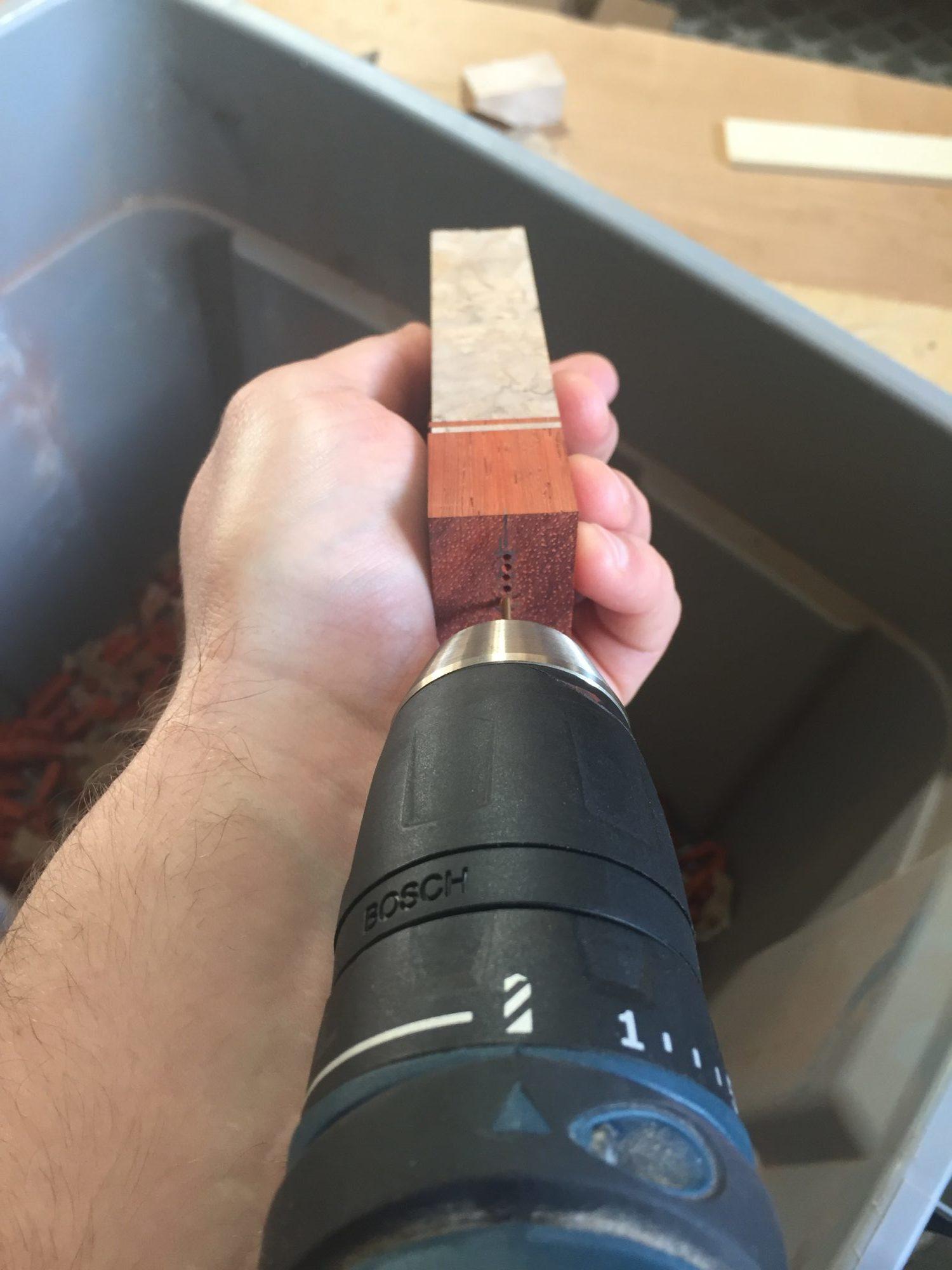 drilling wa-handle